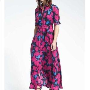Gorgeous Banana Republic Floral Maxi Dress.